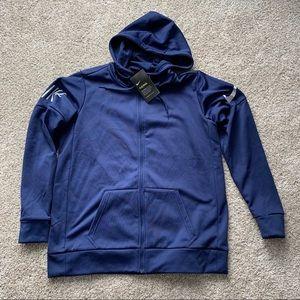Nike Navy Blue Therma Zip Up Hoodie NWT